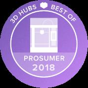 世界3Dプリンター白書のFFF方式3Dプリンターで1位