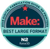 雑誌Makeのベスト大型3Dプリンター